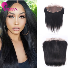 High Quality Super Soft Free Part 13×4 Straight Silk Base Peruvian Lace Frontal Closure