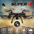 SUPER-S 3.4 GHz 4CH 6 Eixos Giroscópio Mini RC Quadcopter Drone Com 720 P 2.0MP Câmera HD Helicóptero de Uma Chave para Retornar