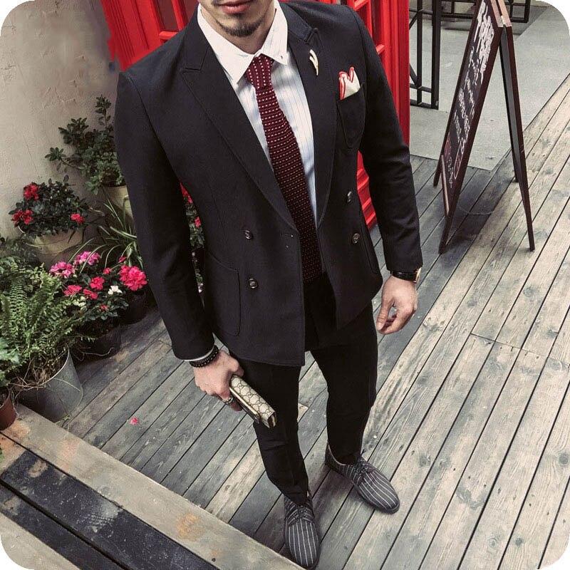 7d0897a5ef6ec6 Noir-Hommes-Costumes-pour-les-Entreprises-A-Atteint-Un-Sommet-Revers-Double-Breasted-Slim-Fit-Terno.jpg