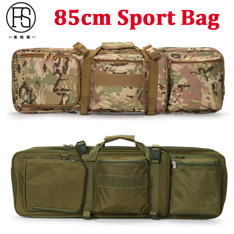 Outdoor Hiking Camping Shoulder Backpack Hunting Rifle Protection Backpack 85cm Nylon Bag Tactical Camouflage Shoulder Backpack 85cm 100cm 120cm tactical hunting backpack dual rifle square carry bag with shoulder strap gun protection case backpack