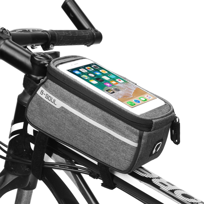 Hot 2019 New Bicycle Bags Cycling Bike Frame Iphone Bags Holder Pannier Mobile Phone Bag Case Pouch