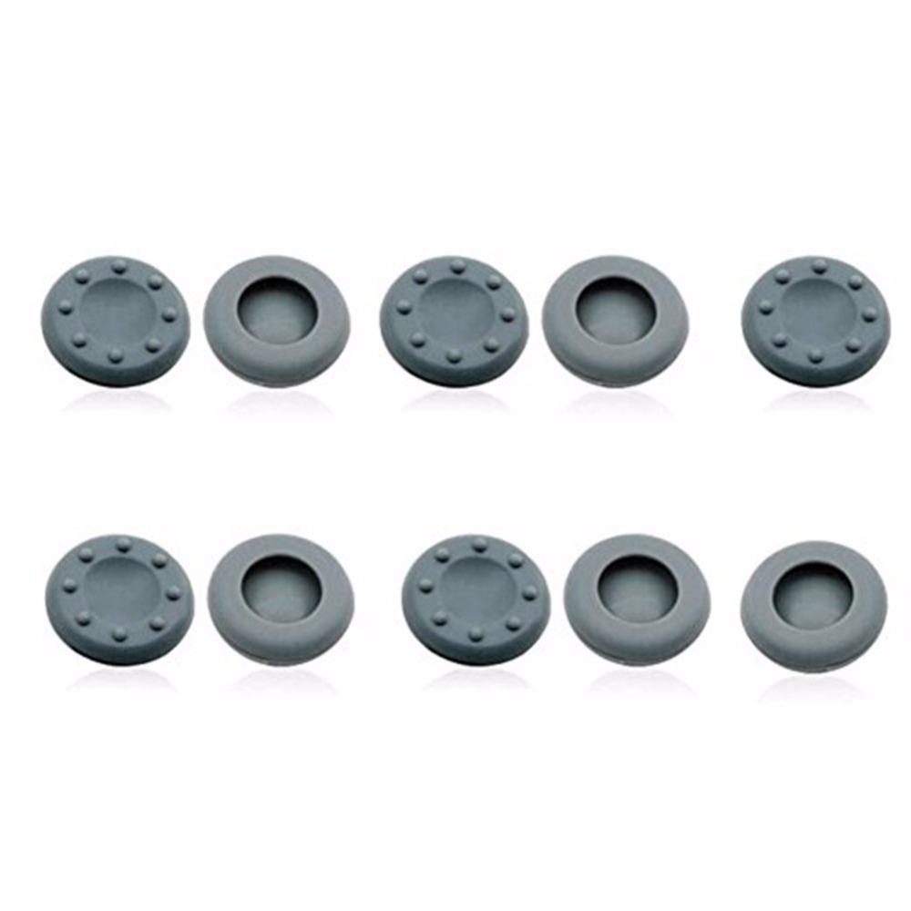 10 Pc Silicone Analog Controller Joystick Thumb Stick Grips Cap Cover For PS3 / PS4 / Xbox 360 / Xbox One /Wii Game Controllers