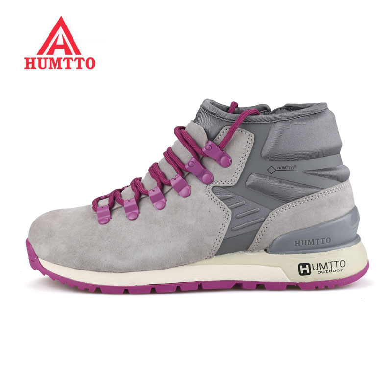 HUMTTO Women's Winter Outdoor Hiking Snow Boots Sneakers Shoes For Women Winter Sport Climbing Trekking Mountain Boots Woman humtto women s outdoor winter trekking hiking boots shoes sneakers for women sports climbing mountain snow boots shoes woman