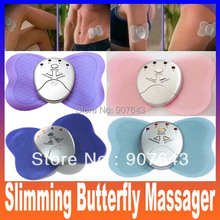 Electronica Slimming Butterfly Body Muscle Massager Body Massager Health Care beauty for Lady Girl – Color Assorted Free