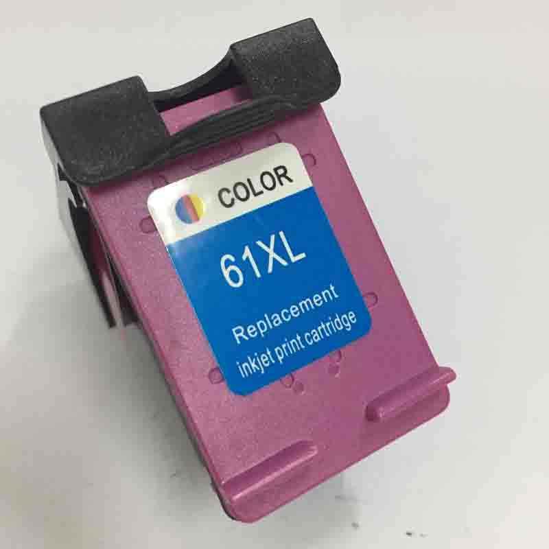 Vilaxh 61xl color compatible para hp 61 cartucho de tinta para hp Deskjet serie 1000, 1010, 1050, 1510, 2050, 2540, 3000, 3050 Envidia 4500