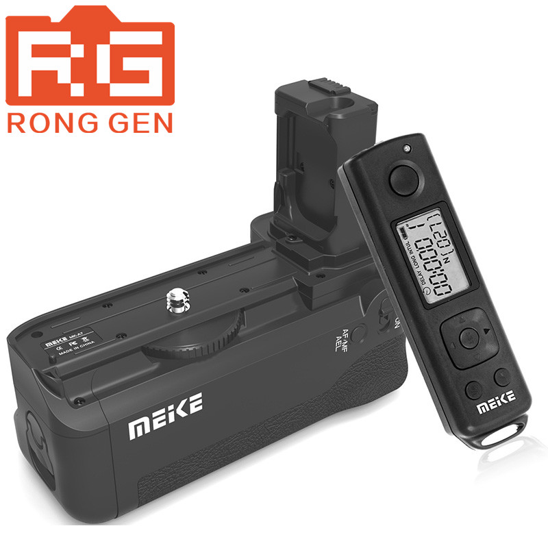 Meike MK-AR7 Built-in 2.4g Wireless Remote Control Battery Grip for Sony A7 A7r A7s meike mk dr750 built in 2 4g wireless control battery grip for nikon d750 as mb d16 wireless remote