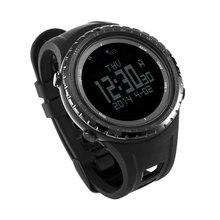 SUNROAD Outdoor Sports Men Watch- Barometer Altimeter Outdoor Sports Running Wristwatch Classic Black Compass Men Wristwatch
