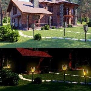Image 5 - Percorso solare Torce Illumina Impermeabile Fiamma 96LED Flickering Torcia Luci di Illuminazione per Giardino/Percorsi/Yard 2 pz/lotto