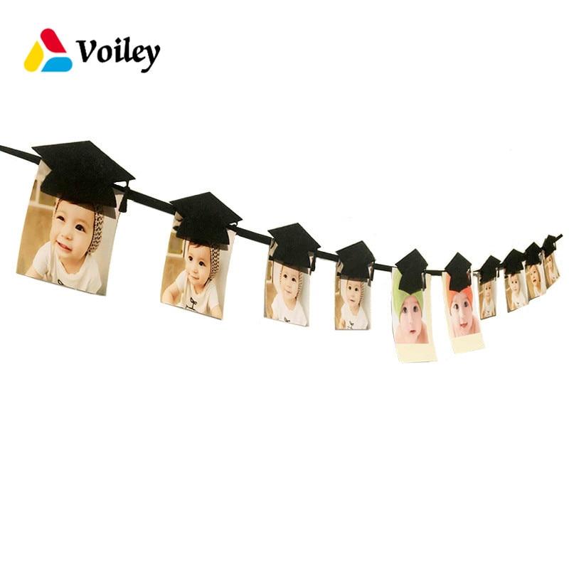 VOILEY Graduation Party Decoration Bachelor Cap Hanging Photo Clip Graduation Souvenirs Graduates Favorite Decor Gift Supplies,7