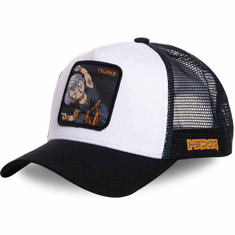 bbec24364 New Brand TRUNKS VEGETA Dragon Ball Snapback Cotton Baseball Cap Men ...