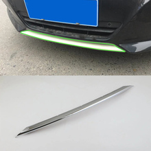 цена на Car Accessories Exterior Decoration ABS Chrome Front Bumper Skid Molding Cover Trim For Nissan Altima 2016 Car Styling