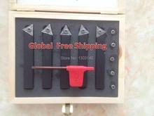 Токарный инструмент Бесплатная доставка Горячей продажи 5 ШТ. 12 мм Сверла Карбида Токарных Инструментов