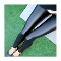 Sales Spring Leggings faux leather Jeans Women Pants With Slim Jeggings Fitness Plus Size M-XL Black/Gray/Navy blue