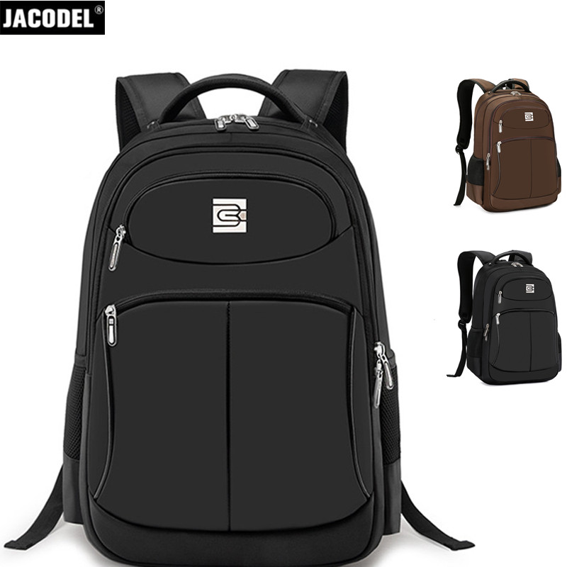 все цены на Jacodel Fashion 17 18 Inch Laptop Backpack Large Computer Backpack Bag for Macbook Lenovo Acer Asus Dell HP 15.6 inch Laptop Bag онлайн