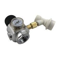 0-30PSI CO2 Mini Gas Regulator & corny keg ball lock disconnect for beer tap,homebrew GAS regulator 3/8 Thread Co2