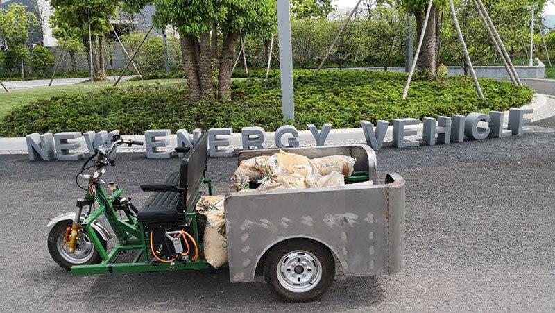 Starke volle chassis design und, der prototypen tests und volle CKD teile lieferung arrangieren für elektrische dreirad und motorrad - 6