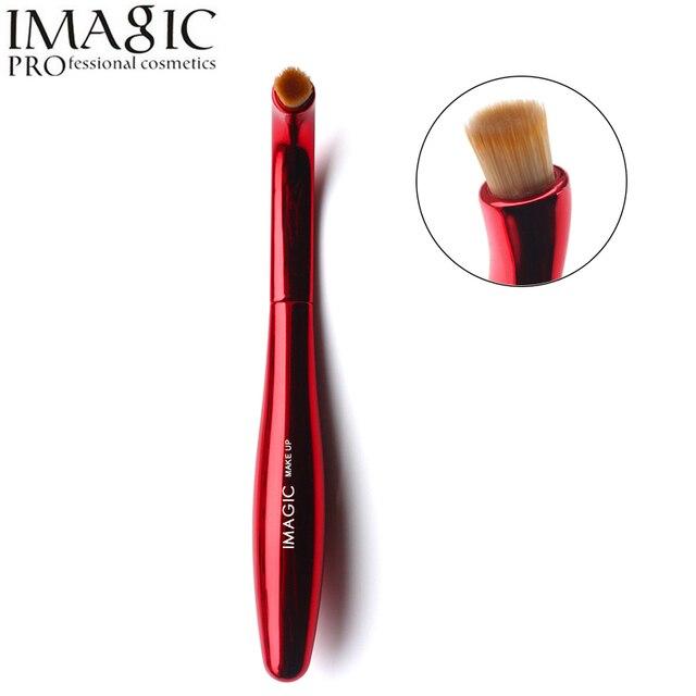1 piezas IMAGIC profesional brillo de sombra de ojos cepillo suave y delicado cepillo de maquillaje Kit de herramientas de Metal cosméticos