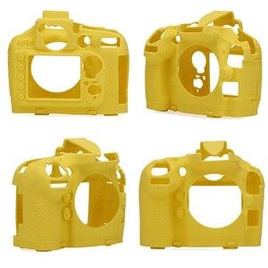 Image 2 - غطاء حماية للجسم مصنوع من السيليكون المطاطي ذو تصميم أنيق لكاميرا نيكون D800 D800E