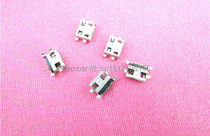 2PCS/Lot 100% New micro USB connector charging port Replacement Parts for xiaomi Redmi Note hongmi Note