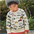 Boy Camisas de Verano Coche Niño Niños Niños de la Camiseta Tops Tee Ropa de Bebé Muchachos Camisetas Niños Ropa Enfant Fille