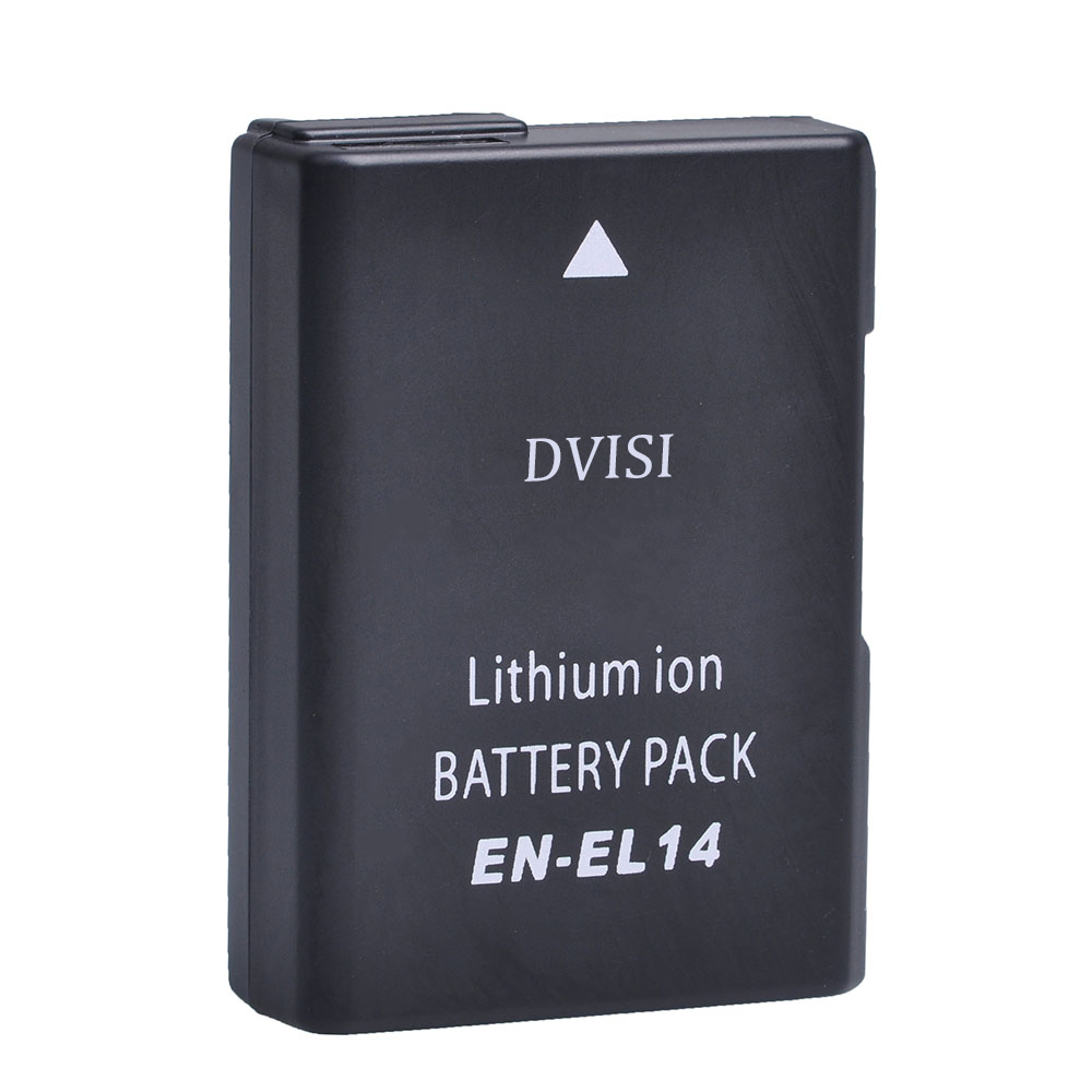 7.4V 1.2Ah EN-EL14 EN EL14 ENEL14 Camera Battery for Nikon D3100 D3200 D3300 D5100 D5200 D5300 D5500 DF P7000 P7100 P7700 P7800