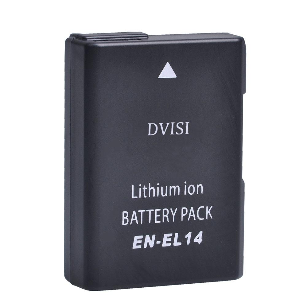 7.4V 1.2Ah EN-EL14 EN EL14 ENEL14 Camera Battery for Nikon D3100 D3200 D3300 D5100 D5200 D5300 D5500 DF P7000 P7100 P7700 P7800