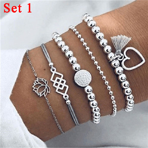 1Pcs Bangle Heart Shell...