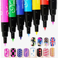 Yaoshun 1pcs DIY Nail Art Painting Dot Drawing Gel Pen  Nail Dotting Pen Painting Paint Pen Nail Polish Tools
