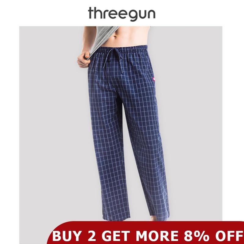 Mens Check Fleece Bottoms /& Cotton Jersey Top Pyjama Sets PJs Loungewear S M L X