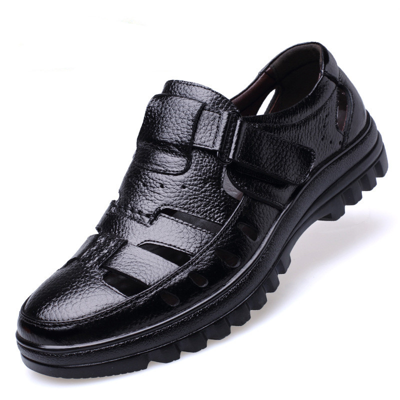 2018 size 38-44 men summer style shoes Classic style Retro Gladiator Cool men sandals Fretwork Breathable Fisherman Shoes