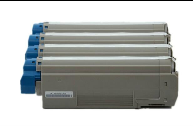 4PC set new Color Toner Cartridge copier toner cartridge OC801 compatible for oki C801 C821 822