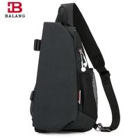 BALANG 2018 New Fashion Messenger Bag Men Waterproof Multipurpose Chest Pack Sling Shoulder Bags For Men