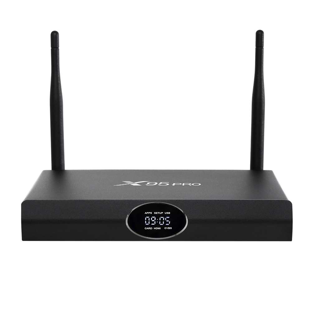 Amlogic S905X X95 PRO Smart Android 6.0 TV BOX Quad Core 1GB 8GB or 2GB 16GB Wifi HDMI 2.0A Bluetooth 4.0 KODI Pre-installed m8 fully loaded xbmc amlogic s802 android tv box quad core 2g 8g mali450 4k 2 4g 5g dual wifi pre installed apk add ons