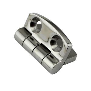 Image 5 - Stainless Steel Marine Hardware Door Butt Hinge Silver Cabinet Drawer Box Hinge Boat Accessories Marine
