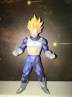 New Arrival 22cm Dragon Ball Z Vegeta Cartoon Color Vision Super Saiyan MSP Vegeta Pvc Action