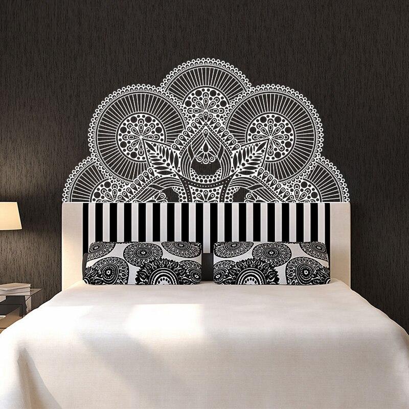 Ehrgeizig Mandala Schmücken Die Betten Wand Vinyl Aufkleber Lotus Boho Poster Schlafzimmer Böhmen Indien Böhmen Yaga Wand Dekor Diversifiziert In Der Verpackung Tapeten Malzubehör & Wandgestaltung