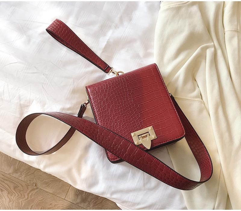 DIINOVIVO Fashion Alligator Female Handbags Designer Crossbody Bags for Women Small Square Bag Shoulder Messenger Purse WHDV0917 15