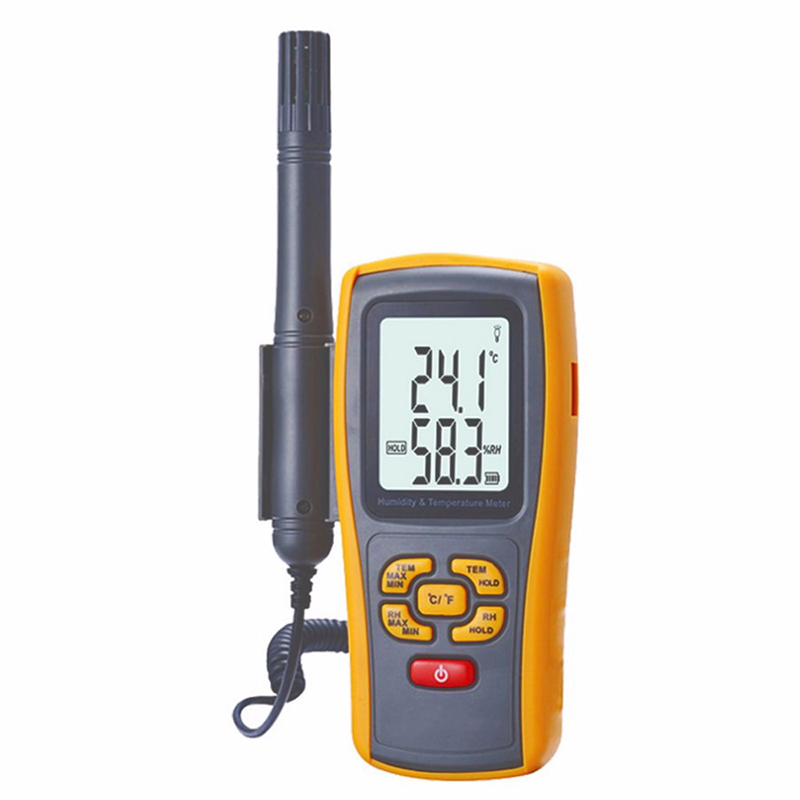 цена на GM1361 Digital LCD display Temperature Humidity Data Logger high precision Industrial thermometer hygrometer