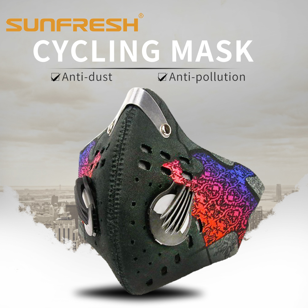 Fashion Dust Mask Riding Mouth Cover Unisex Cycling Masks Cover Filter Anti Dust Mask Half Face Men & Women Running Breathable