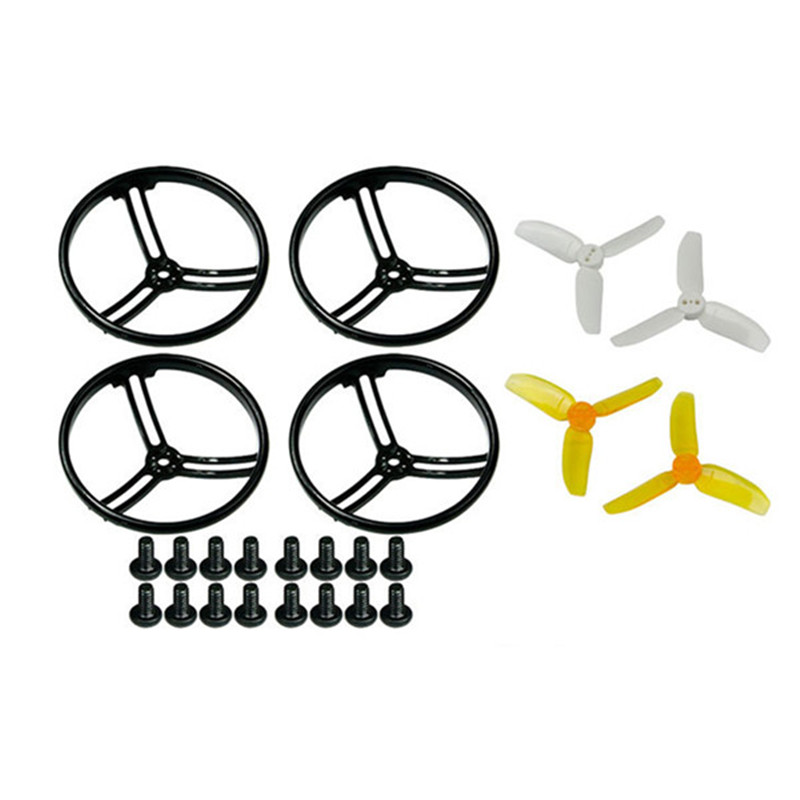 Ormino 4 STÜCKE Kingkong 2,8 Zoll Propeller Schutzvorrichtung Alle Surround mit 4 Pairs 2840 Propeller RC quadcopter multicopter kit