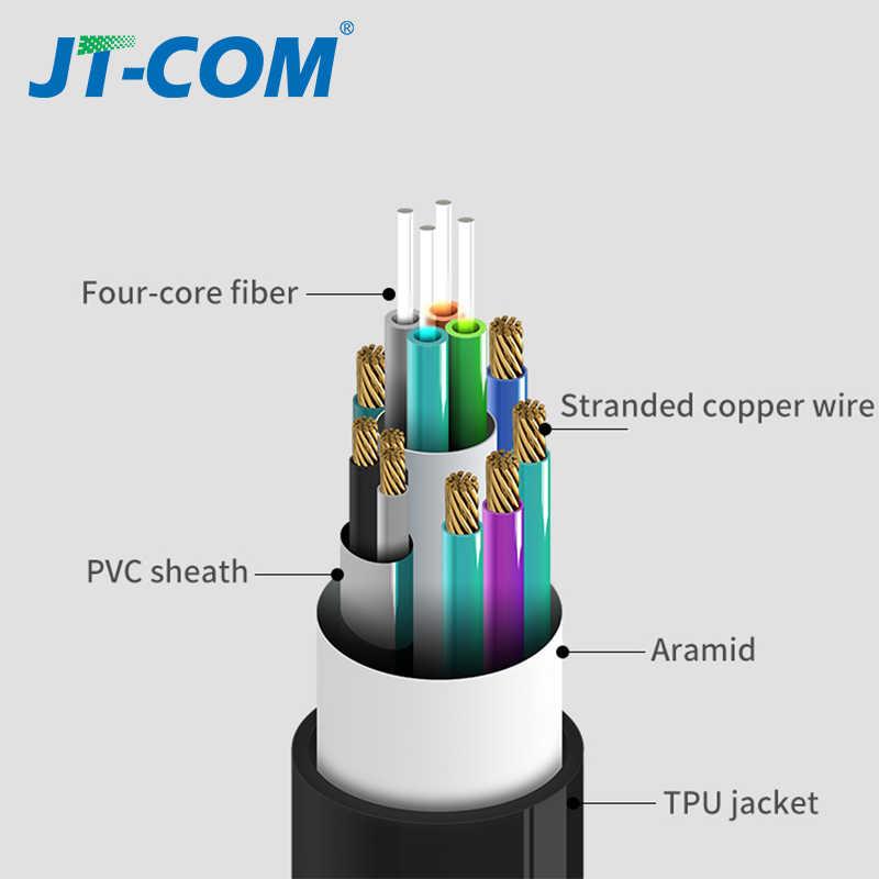 Światłowód kabel HDMI 2.1 2.0 ultra-hd (UHD) kabel 8K 4K 120Hz 48Gbs z przewodem audio wideo HDMI bezstratny wzmacniacz HDR 4:4:4