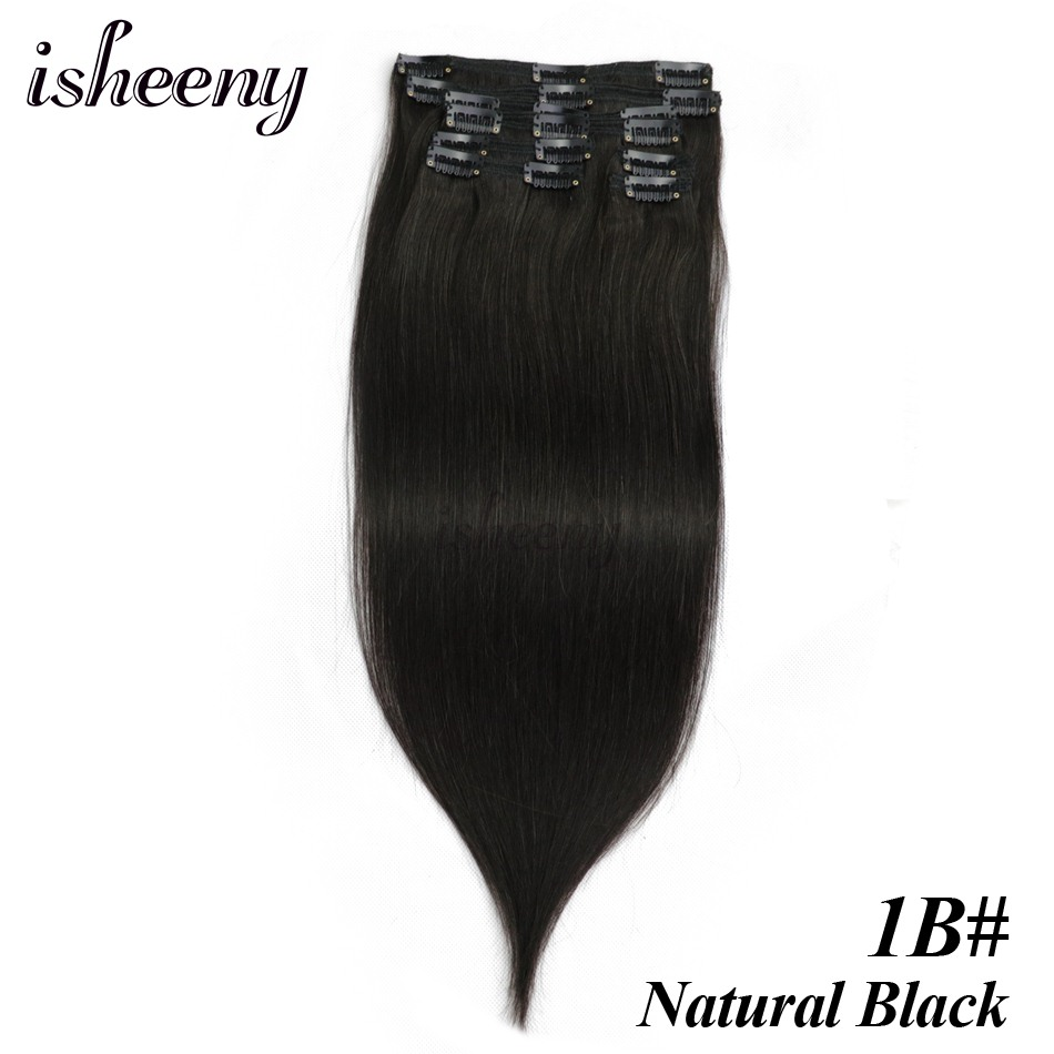 Straight Hair Seamless Extensions 5