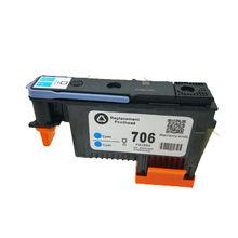 Original Printer Head for HP 706 Cyan/Cyan F9J49A Printhead for HP DESIGNJET D5800 c5019a hp84 black printhead for hp print head for hp designjet 30 90 130nr printer original printhead