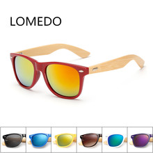 Retro Wooden Bamboo Sunglasses Branding UV400 For Men Women Sun Glasses Shades Vintage Aviator Unique Wood Sunglasses Colors