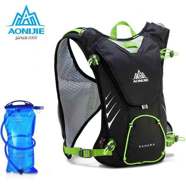 11984d804d ... AONIJIE Outdoor Trail Running Marathon Hydration Backpack Lightweight Hiking  Bag With+ 1.5L Hydration Water Bag ...