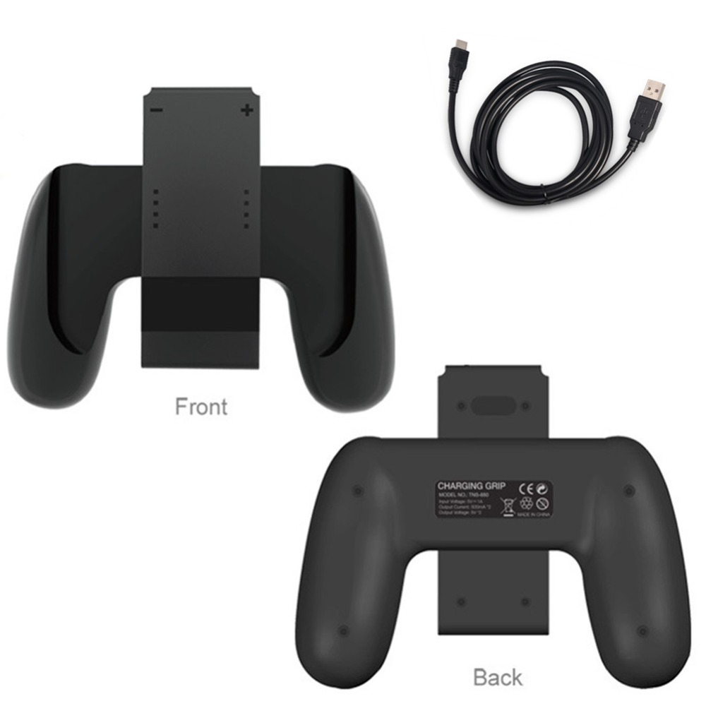 Grip Handle Charging Dock Station Charger Chargeable Stand Holder for Nintend Switch NS Joy-Co nintend switch joy con