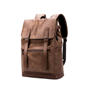 цена на Backpack Design Teenager PU Leather Bag Classic Backpack Casual Backpack multifunction Backpack Fashion  Travel Bags