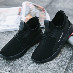 Male Tennis Shoes Lace Up Soli