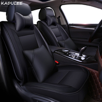 KADULEE pu leather car seat cover For nissan qashqai j10 almera n16 note x trail t31 patrol y61 accessories covers for vehicle|Automobiles Seat Covers|Automobiles & Motorcycles -