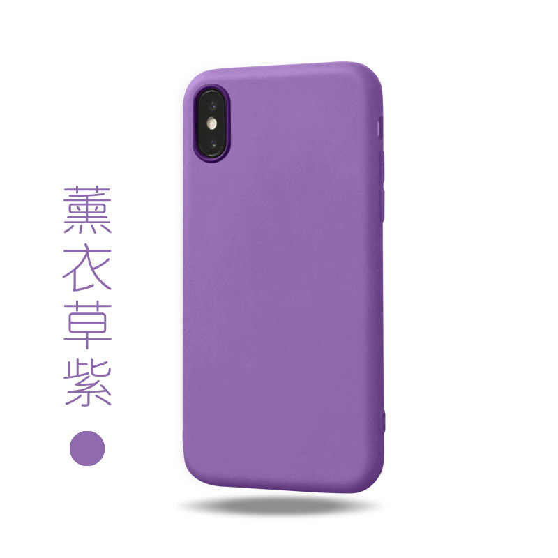 Funda de teléfono ultrafina colorida transparente suave mate para iPhone 7 7 Plus 6 6 s 6 splus 8 Plus 10 X XS Max XR caso XS